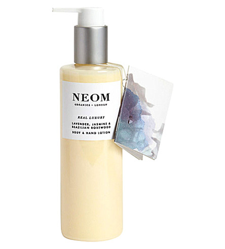 NEOM LUXURY ORGANICS Real Luxury body and hand lotion 250ml