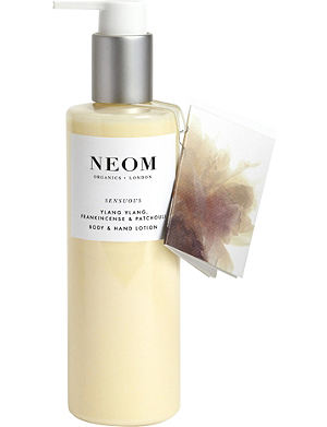 NEOM LUXURY ORGANICS Sensuous body and hand lotion 250ml