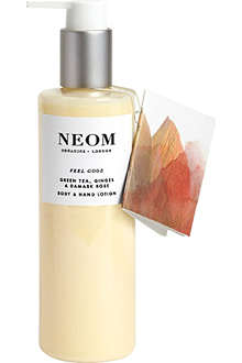 NEOM LUXURY ORGANICS Feel Good body and hand lotion 250ml