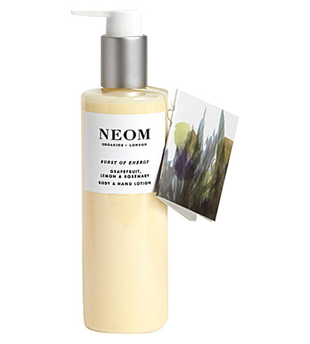 NEOM LUXURY ORGANICS Burst of Energy body and hand lotion 250ml