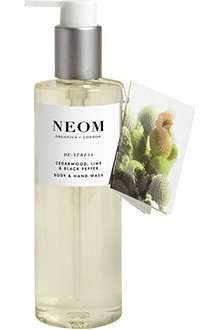 NEOM LUXURY ORGANICS De-stress body and hand wash 250ml