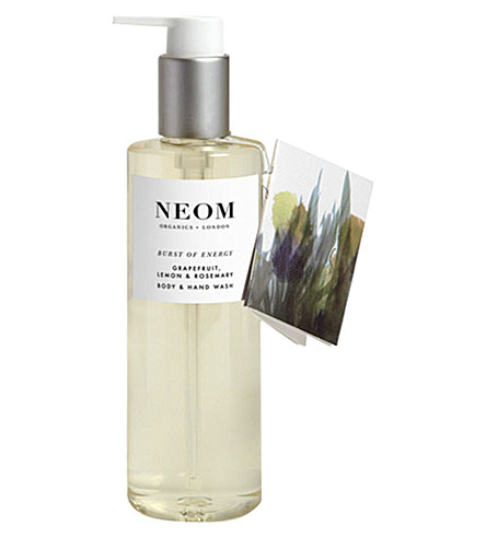 NEOM LUXURY ORGANICS Burst of Energy body and hand wash 250ml