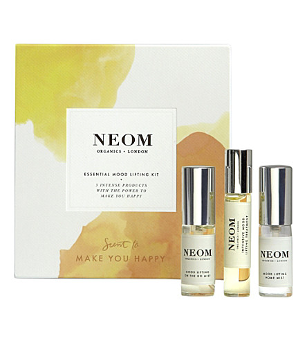 NEOM LUXURY ORGANICS Essential mood lifting kit