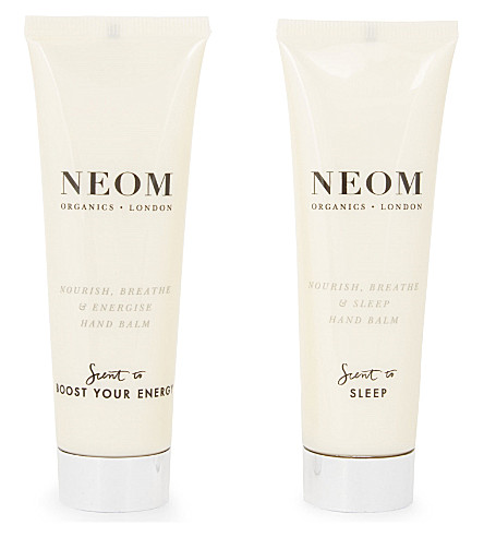 NEOM LUXURY ORGANICS Nourish and Breathe day & night hand cream set
