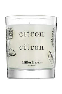 MILLER HARRIS Citron Citron scented candle 185g