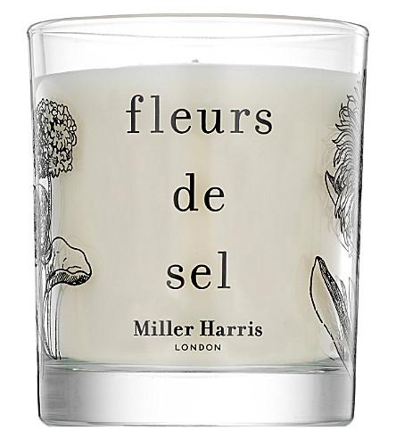 MILLER HARRIS Fleurs de Sel scented candle 185g