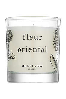 MILLER HARRIS Fleur Oriental scented candle 185g