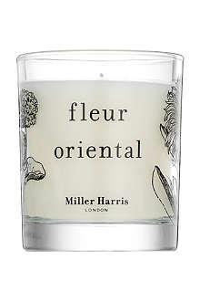 MILLER HARRIS Fleur Oriental scented candle 185g