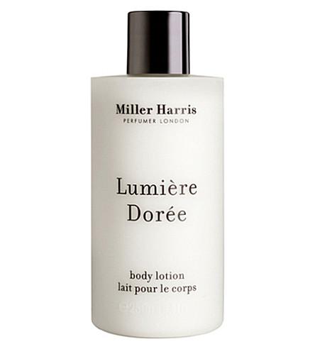 MILLER HARRIS Lumière Dorée Body Lotion 250ml