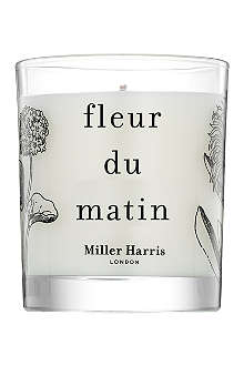 MILLER HARRIS Fleur du Matin scented candle 185g