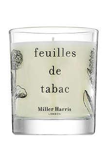MILLER HARRIS Feuilles de Tabac scented candle 185g