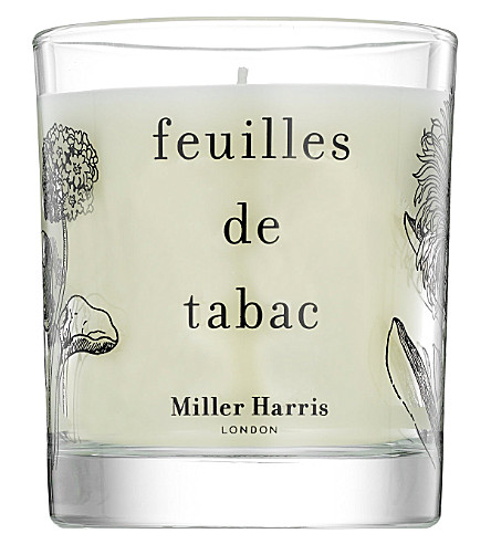 MILLER HARRIS Feuilles de Tabac scented candle 185g