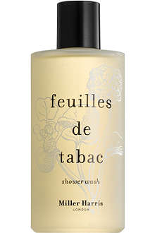 MILLER HARRIS Feuilles de Tabac shower wash 250ml