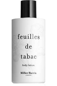 MILLER HARRIS Feuilles de Tabac body lotion 250ml