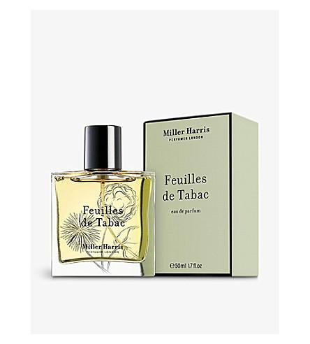 MILLER HARRIS Feuilles de Tabac eau de parfum 50ml