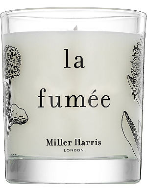 MILLER HARRIS La Fumée scented candle 185g