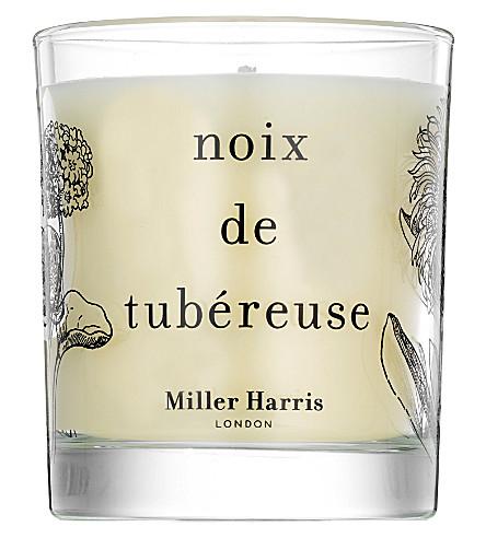 MILLER HARRIS Noix de Tubéreuse scented candle 185g