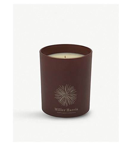 MILLER HARRIS Reine de la Nuit scented home candle 185g