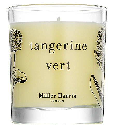 MILLER HARRIS Tangerine Vert scented candle 185g