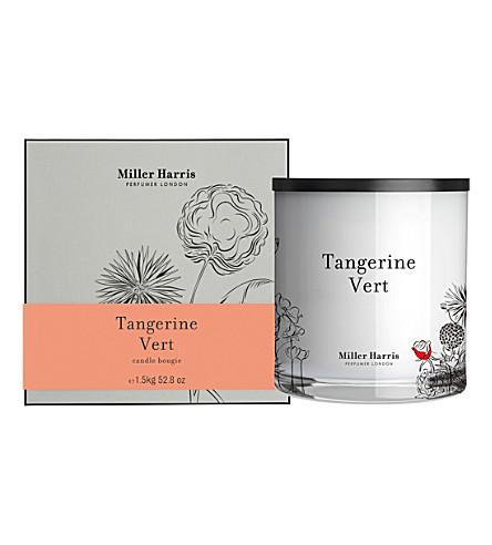 MILLER HARRIS Tangerine Vert scented Pillar Candle 1.5kg