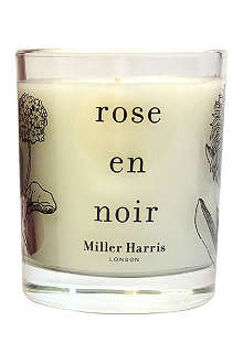 MILLER HARRIS Rose en Noir scented candle 185g