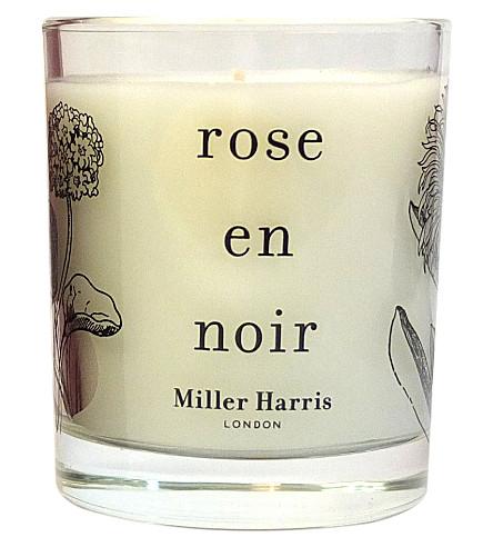 MILLER HARRIS Rose en Noir scented candle 185g