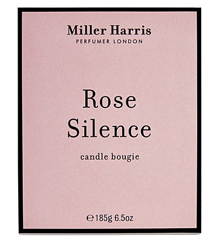 MILLER HARRIS Rose Silence limited edition scented candle 185g