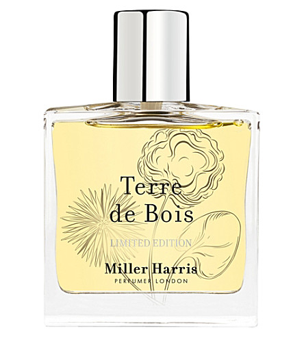 MILLER HARRIS Terre de Bois Eau de Parfum Limited edition 50ml