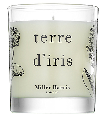 MILLER HARRIS Terre d'iris scented candle 185g