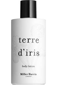MILLER HARRIS Terre d'iris body lotion 250ml