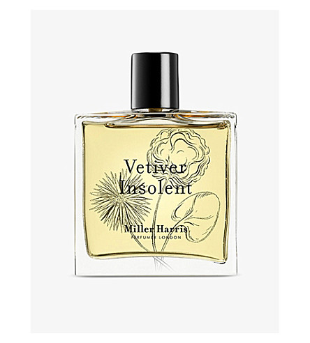 MILLER HARRIS Vetivert insolent eau de parfum 100ml