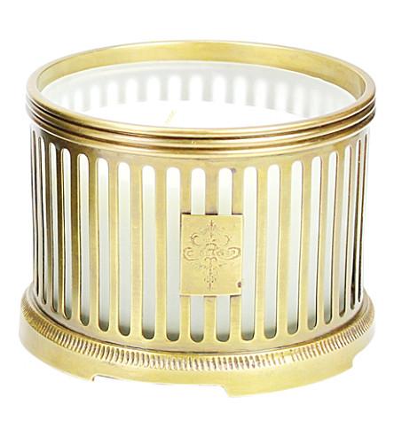 D.L. & CO Proprietors Reserve gold candle
