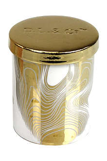 D.L. & CO Honey absolute gold tumbler candle
