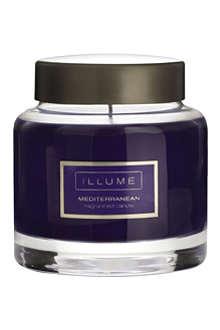 ILLUME Mediterranean scented candle jar