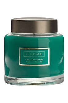 ILLUME Cactus Verde scented candle jar