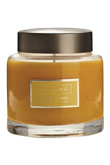 ILLUME Amber Dunes scented candle jar