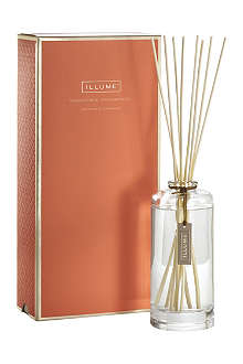 ILLUME Tangerine Teakwood large fragrance diffuser