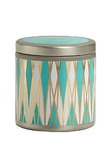 ILLUME Oceano mini scented candle tin