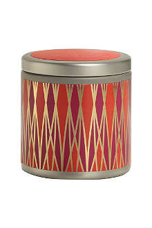 ILLUME Desert Tulip mini scented candle tin