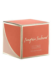 ILLUME Tangerine Teakwood scented candle