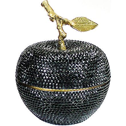 D.L. & CO Enchanted Apple Swarovski Black Crystal candle