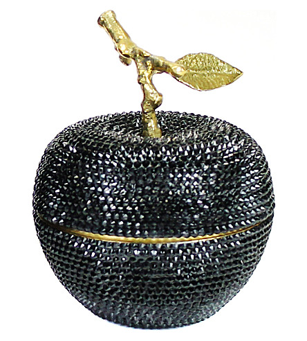 D.L. & CO Enchanted Apple Swarovski Black Crystal candle