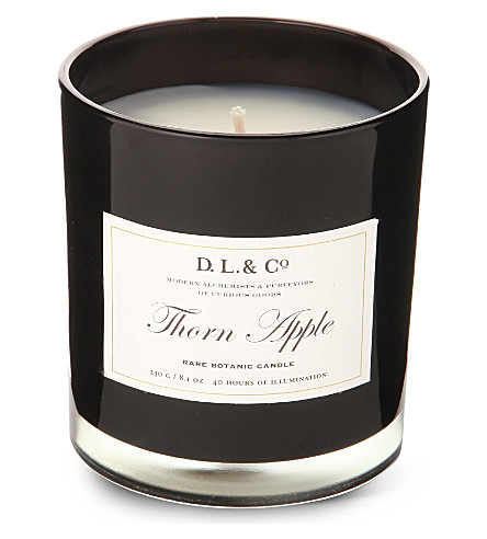 D.L. & CO Thorn apple candle tumbler