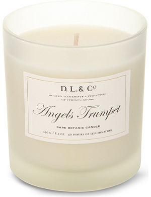 D.L. & CO Angels Trumpet candle tumbler