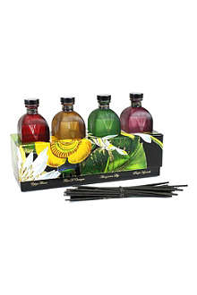 D.L. & CO Fall Flower set of four diffusers