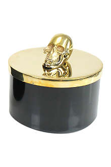 D.L. & CO Artisan Gold Skull scented candle