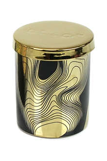 D.L. & CO Honey Absolute black tumbler candle