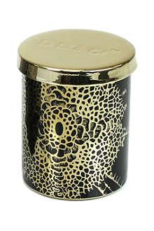 D.L. & CO Essence Of Florets black tumbler candle