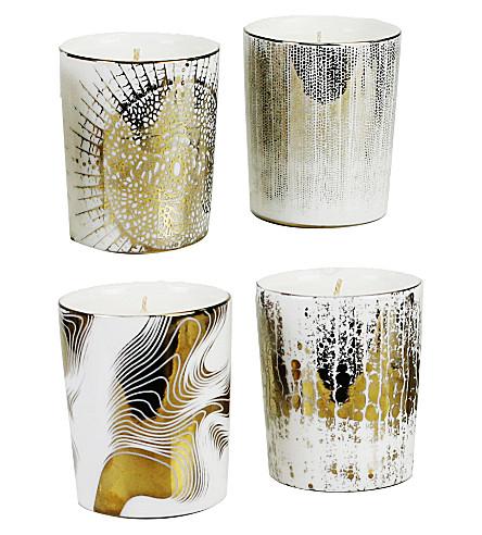 D.L. & CO Soleil set of four votive candles