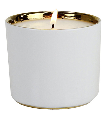 D.L. & CO White Gold candle